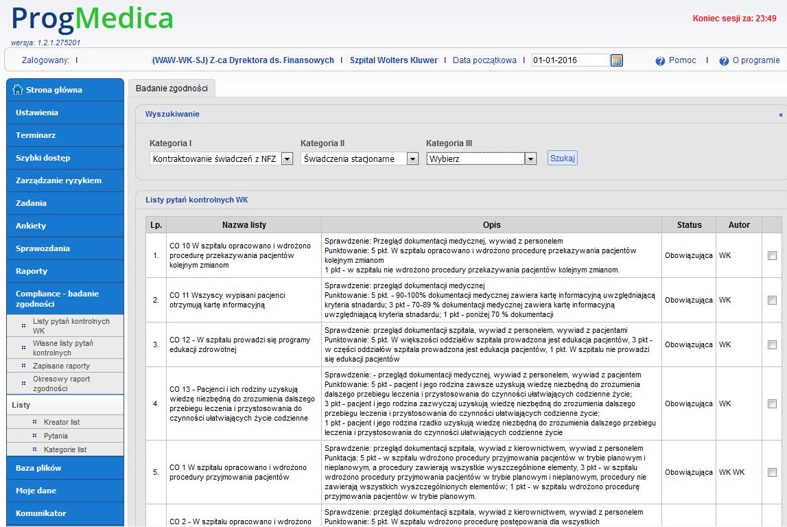 Compliance – badanie zgodności